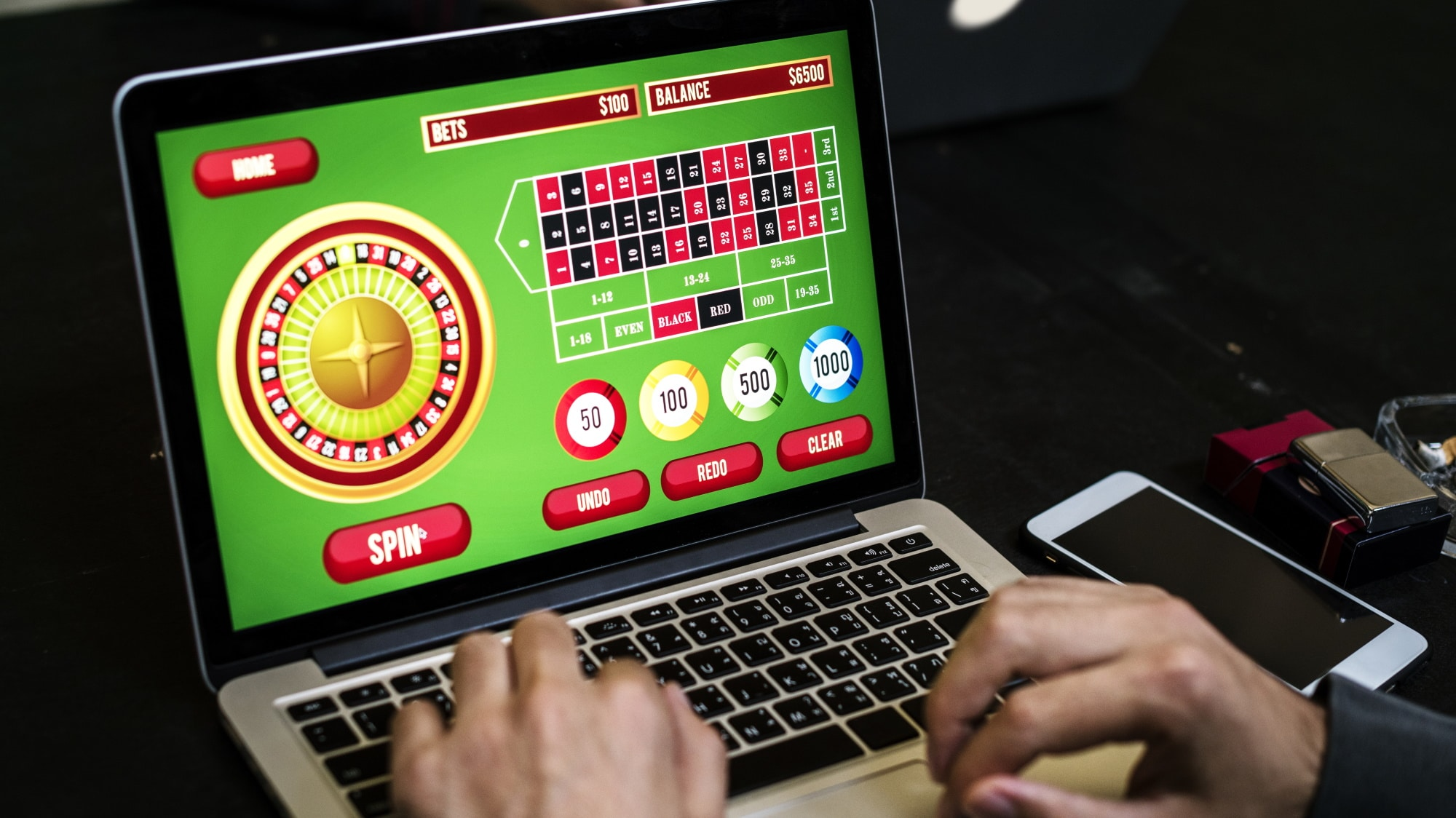 The legality of the casino